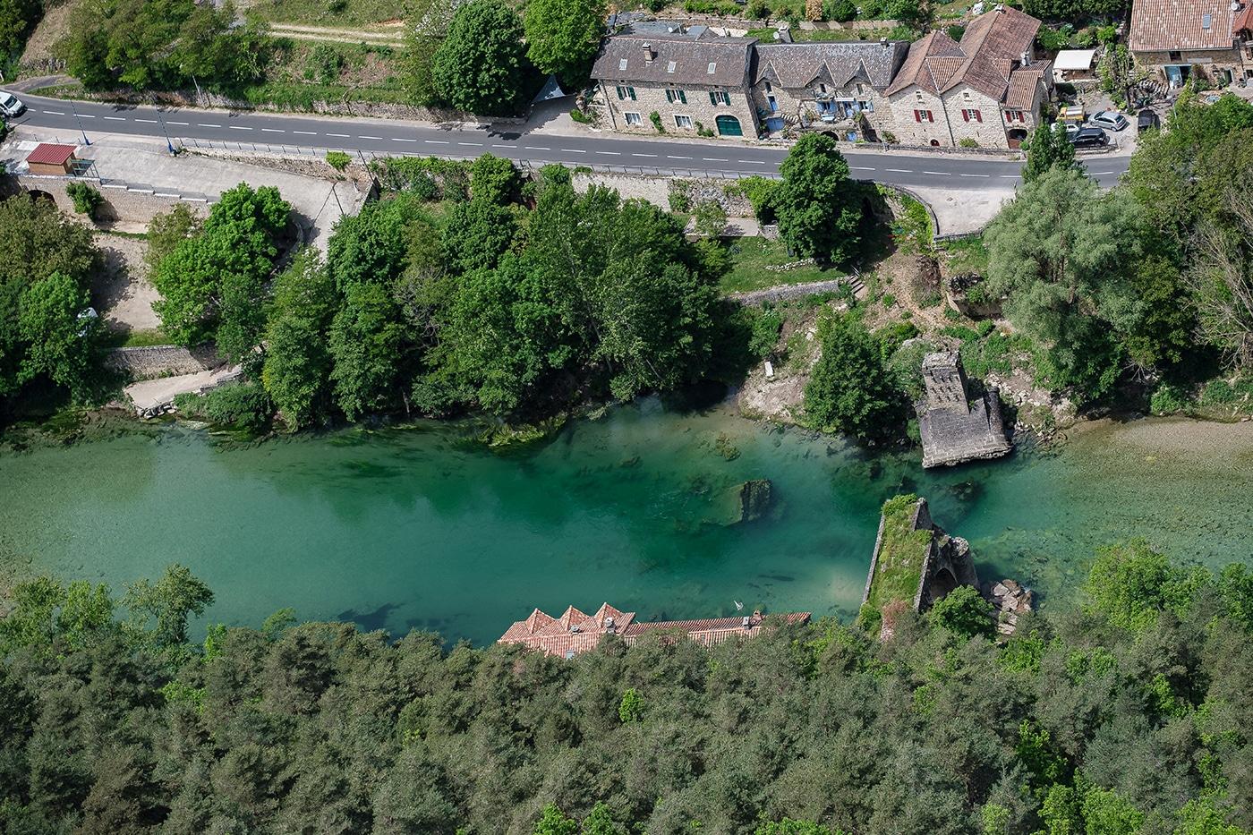 Rivière du Tarn en Lozère