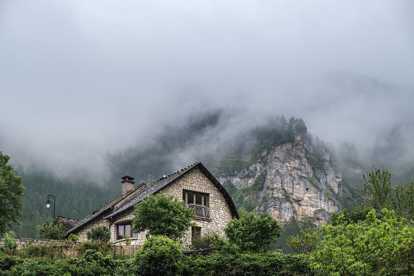 Maison à Sainte Enimie
