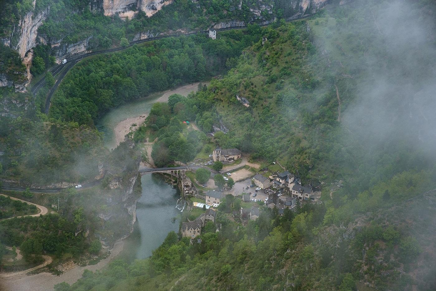 Village de Saint Chély du Tarn Lozère