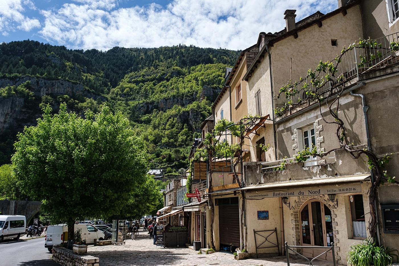 Sainte Enimie village des gorges du Tarn en Lozère
