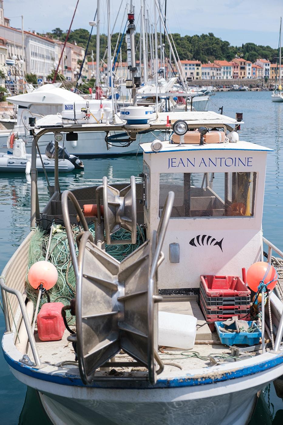 Bateau à Port Vendres