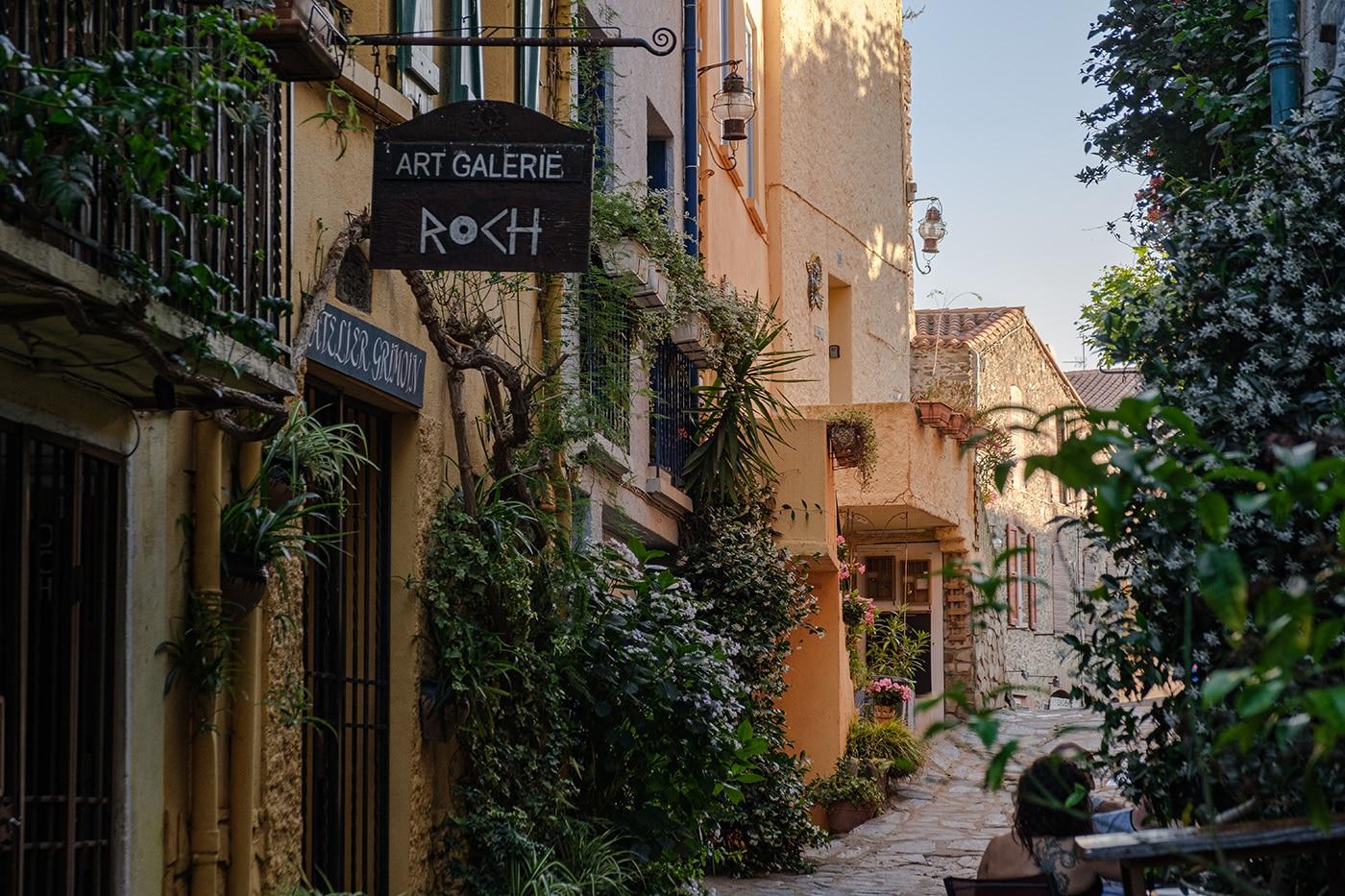 Vieux centre de Collioure