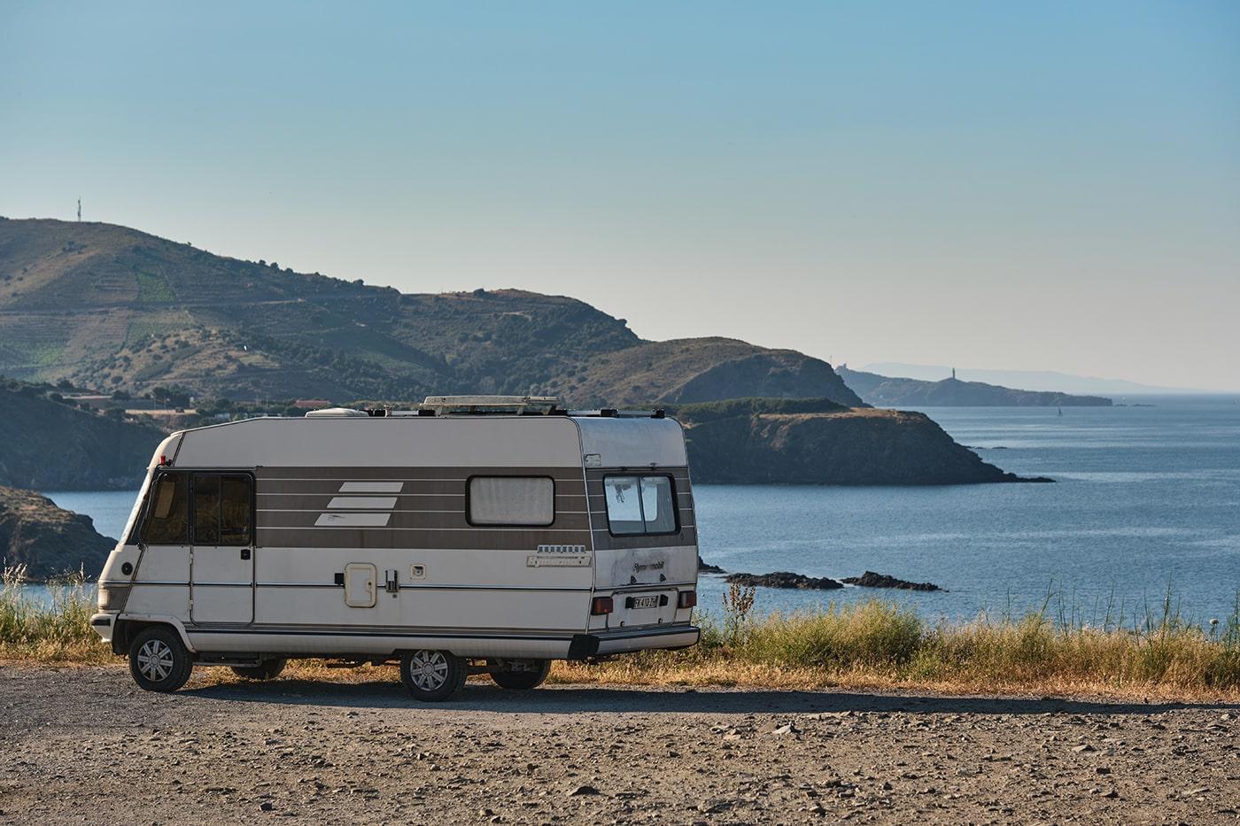 Voyage en camping-car sur la côte Vermeille