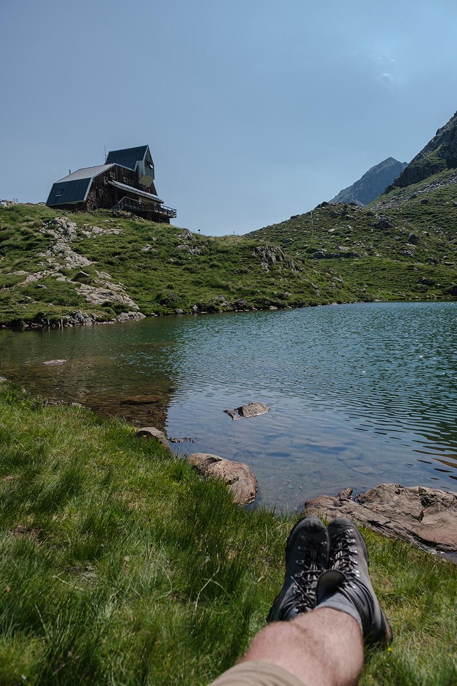 Refuge du Pinet randonnée pic du Montcalm