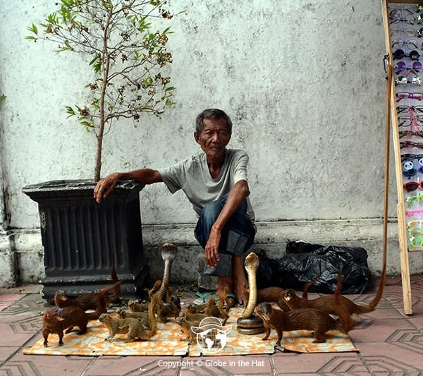 Indonesian Street vendor