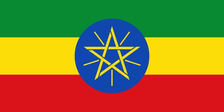 Flag of Ethiopia (Image Credit: Wikimedia Commons)