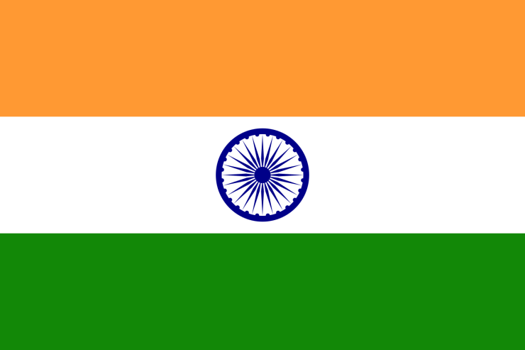 This is a flag of India.