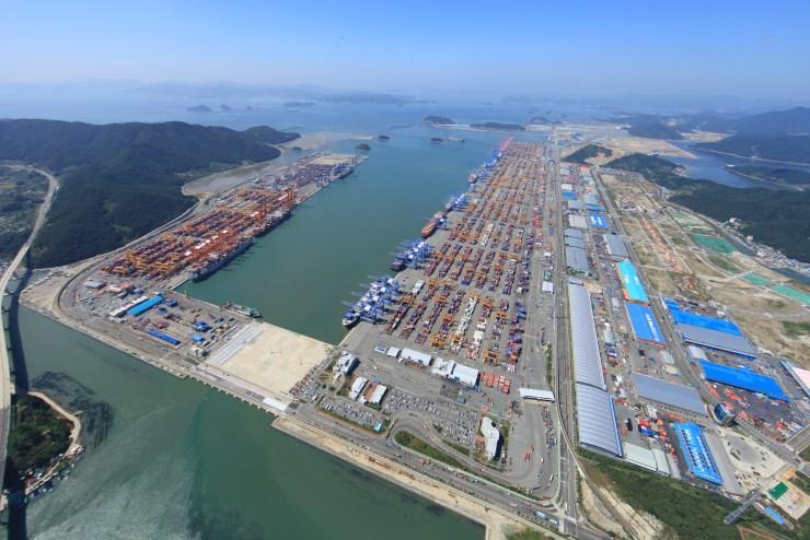 Busan busiest port South Korea