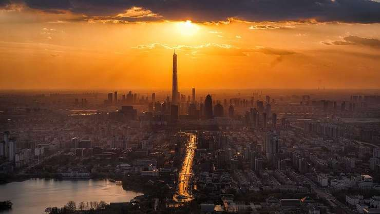Tianjin port busiest world