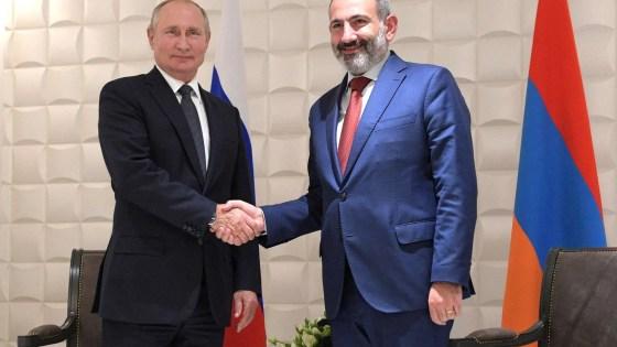 Putin pashinyan