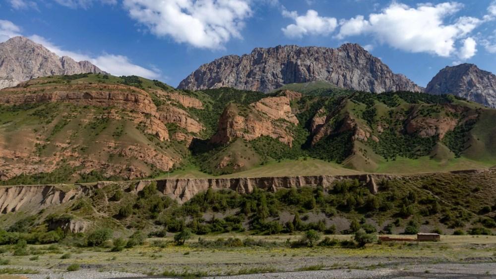 alai mountains Kyrgyzstan