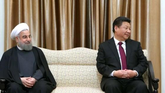 xi Jinping hassan Rouhani