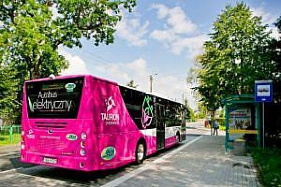 Autobus elektryczny, źródło: media.tauron.pl