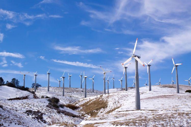 Energetyka wiatrowa w zimie