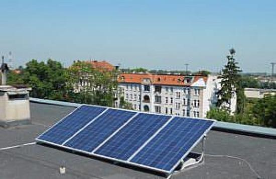 Prosumencka instalacja w Jaworzu, źródło: WFOŚiGW we Wrocławiu