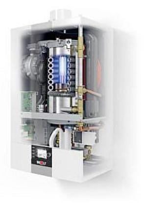 Gazowy kocioł kondensacyjny CGB-2 - Przekrój, źródło: Wolf