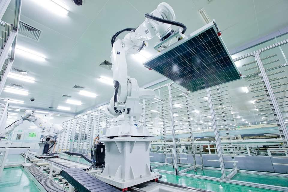 Fabryka modułów Jinko Solar