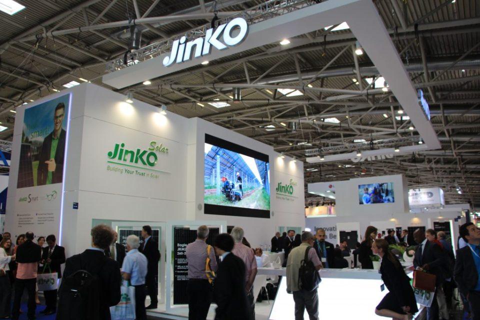 Stoisko Jinko Solar