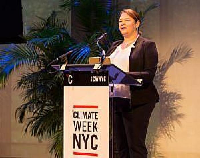 Lisa Jackson podczas Climate Week w Nowym Jorku