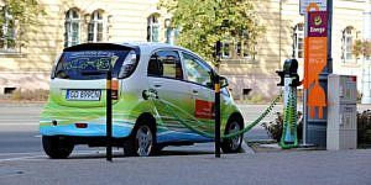 Stacja ładowania EV Grupy Energa