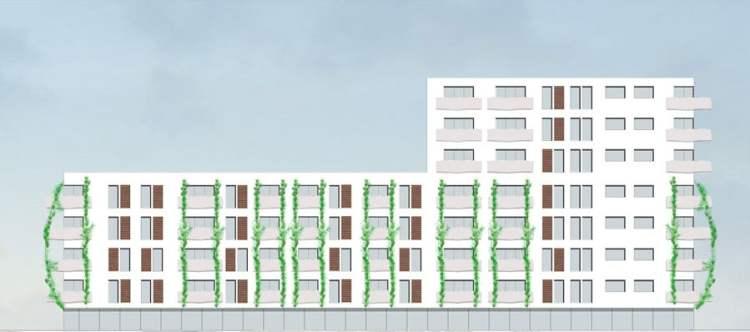 Heidelberg Village projekt budynku