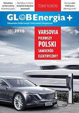 Okładka GLOBEnergia+ 10/2016