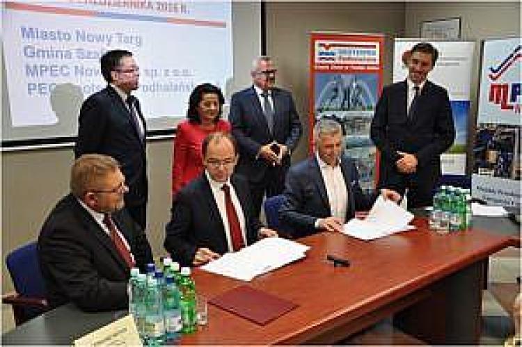 Podpisanie umowy na rozwój Geotermii Podhalańskiej