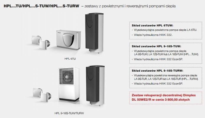Promocyjny zestaw powietrzna pompa ciepła + rekuperacja