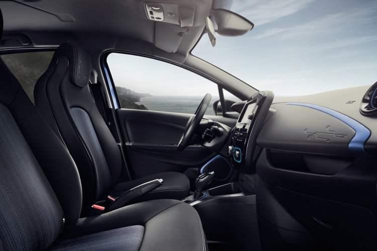 Wnętrze Renault Zoe