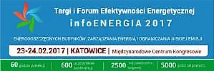 Targi i Forum Efektywności Energetycznej infoENERGIA 2017