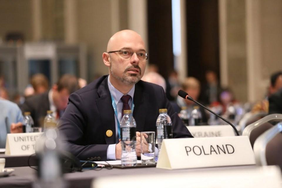 Minister Kurtyka podczas corocznego Zgromadzenia Agencji Energii Odnawialnej IRENA