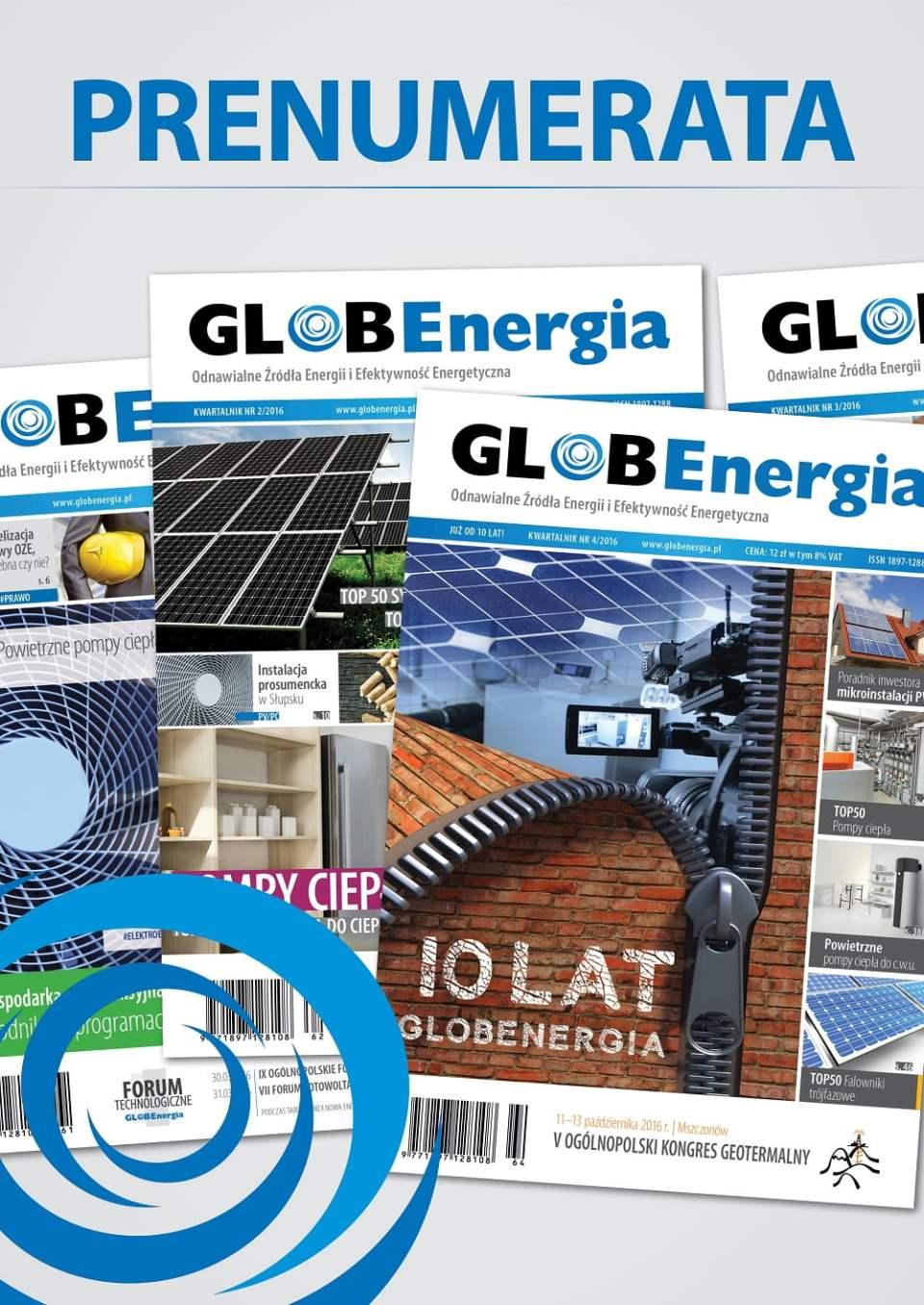 Prenumerata GLOBEnergia 2017