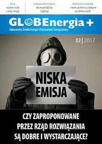 GLOBEnergia+ 2/2017 okładka