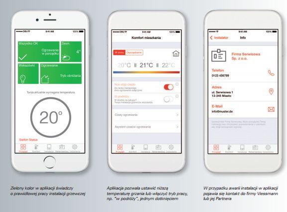 ViCare, aplikacja mobilna, system grzewczy