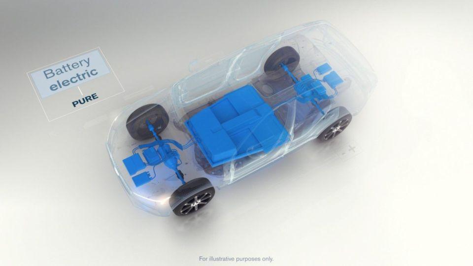 volvo, samochód elektryczny