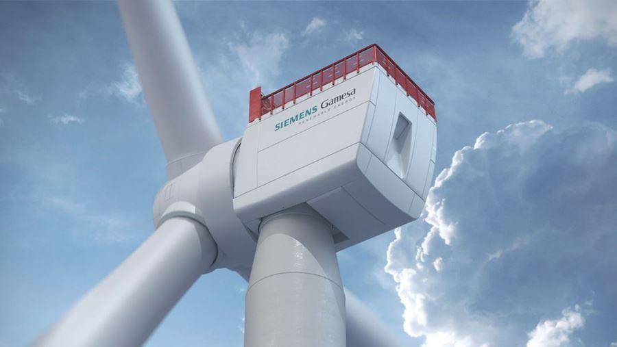 największa turbina wiatrowa, gamesa