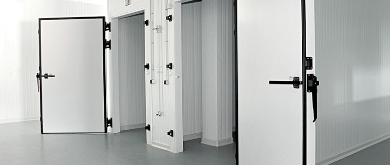 Why to use a PVC cold-room door is a smart choice for cold storages, PVC breaks thermal bridges