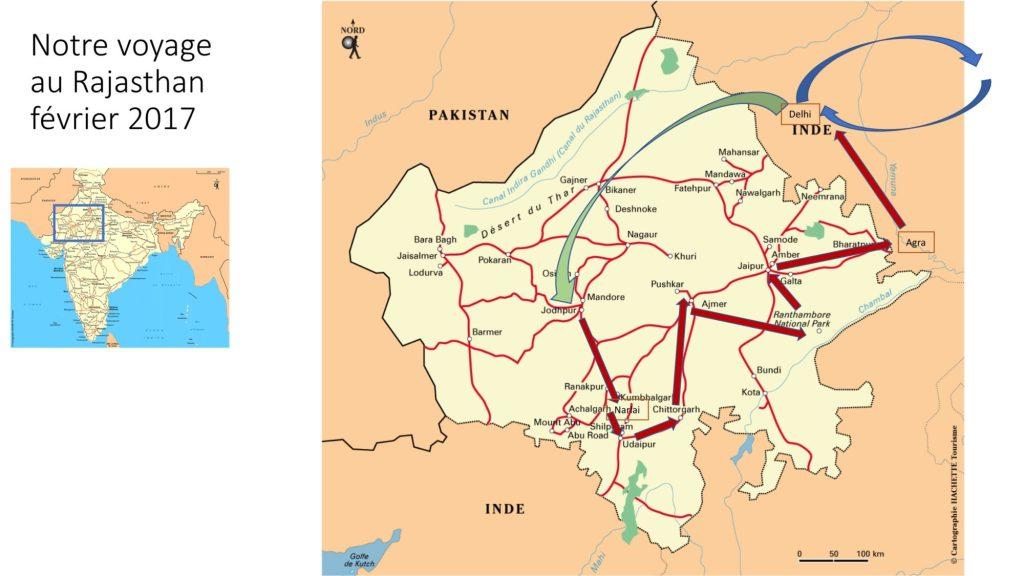 itinéraire voyage en Inde 2017