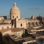 Duomo de Noto, vu du clocher d'un autre église