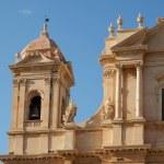 Détail du clocheton d'un église de Noto