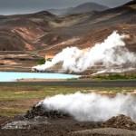 Islande Mivatn geothermie