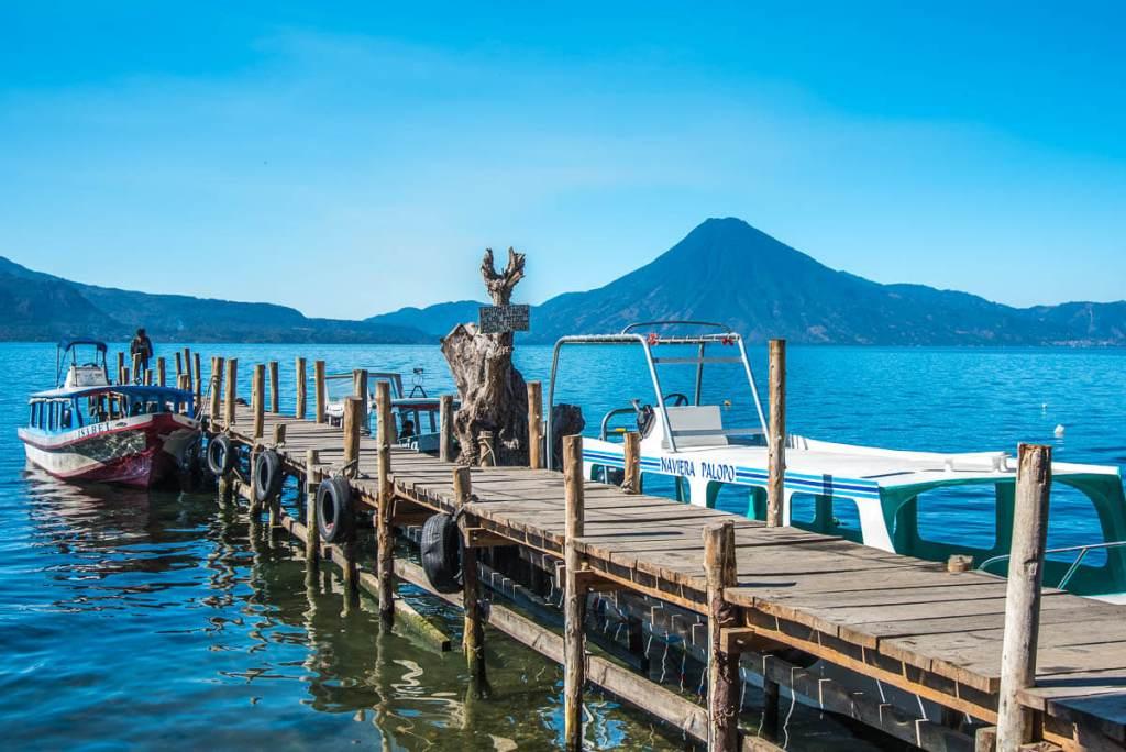 Guatemala - San Juan de la Laguna - Lancha