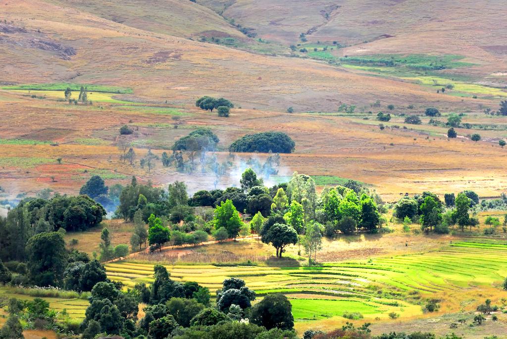 Madagascar - un village de Tsaranoro