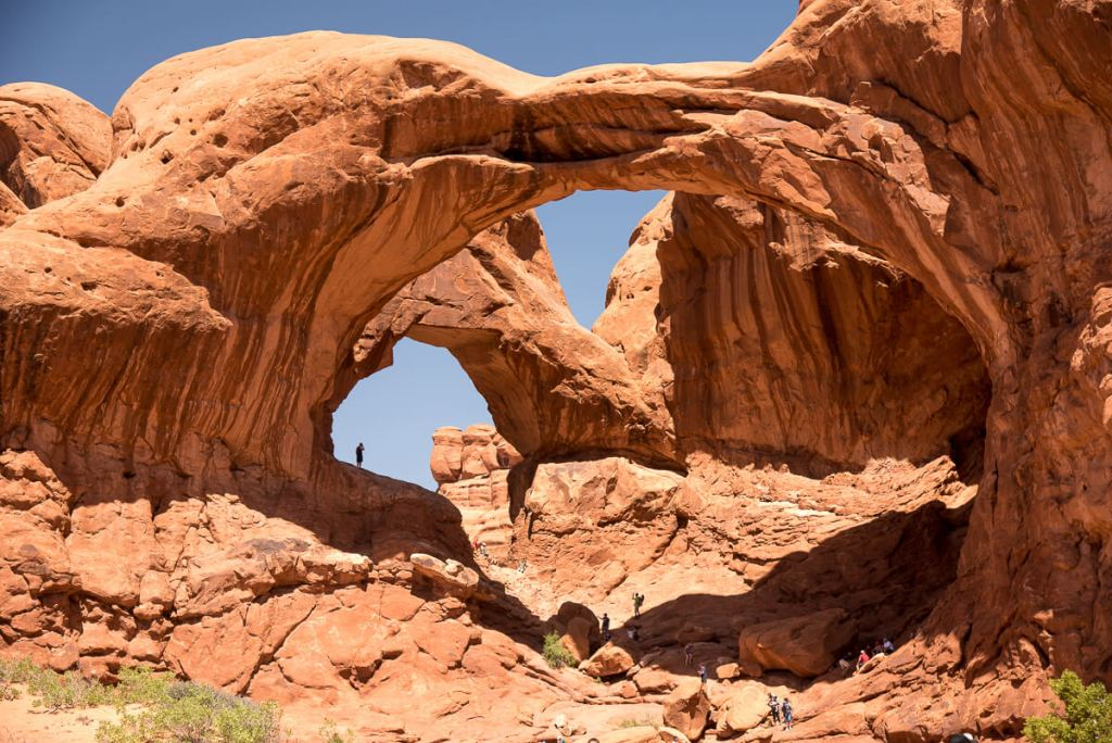Arches National Park - double arche