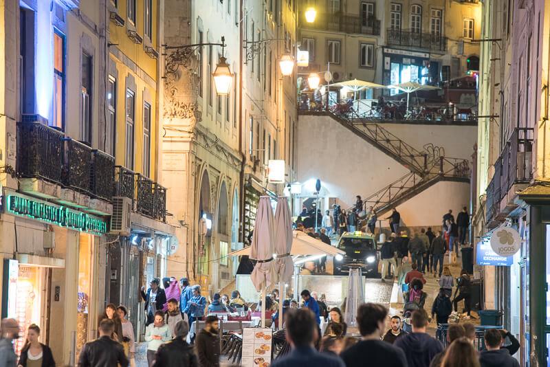 Lisbonne - Baixa & Chiado, des soirées animées