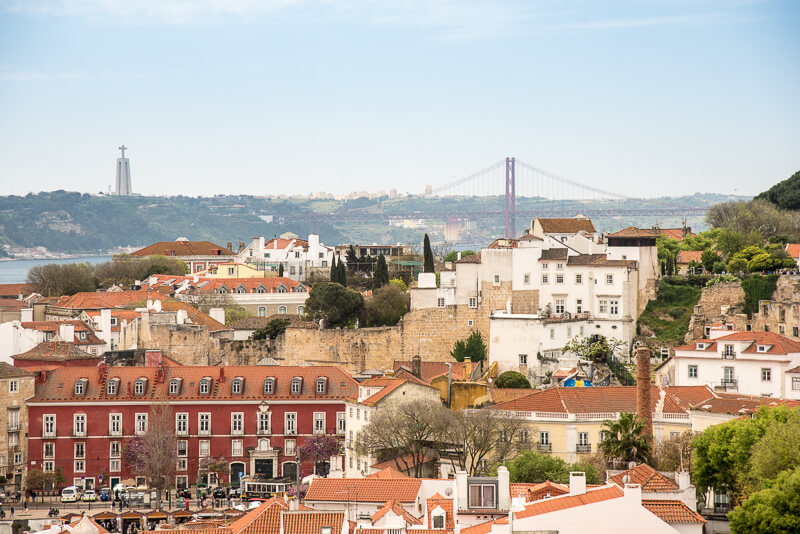 Lisbonne- Vue depuis la terrasse du musée des azulejos