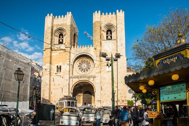Lisbonne - Cathédrale de Sé