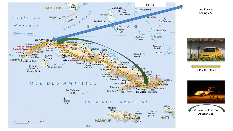 Cuba - Itinéraire de notre voyage