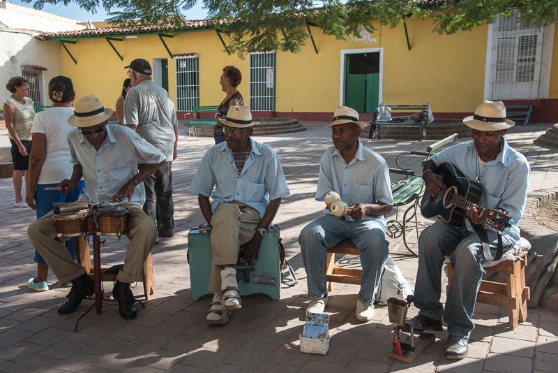 Cuba - Trinidad, musiciens