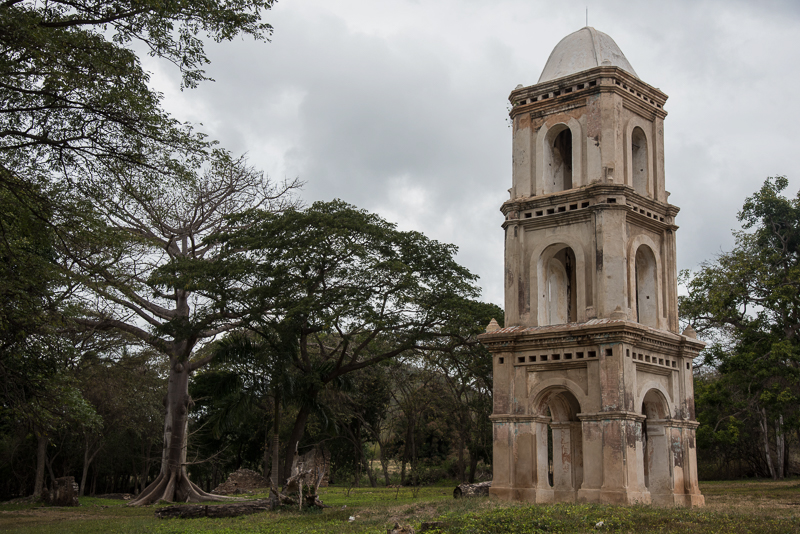 Cuba - Tour de surveillance des esclaves dans une plantation sucrière